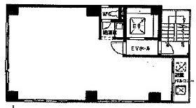 乗物町第一ビル:基準階図面