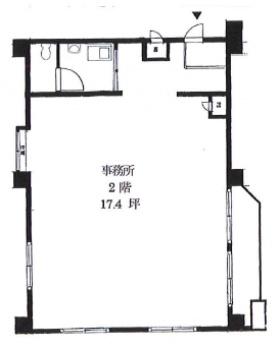 金王アジアマンション:基準階図面