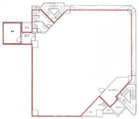 大手町建物市ヶ谷ビル:基準階図面