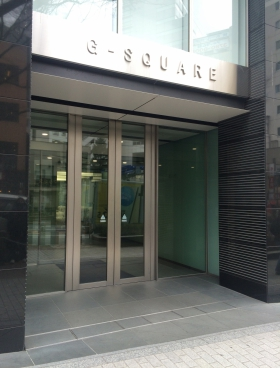 Gスクエア渋谷道玄坂のエントランス
