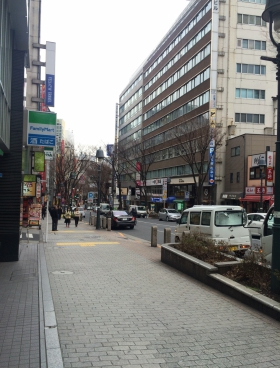 Gスクエア渋谷道玄坂の内装