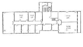 第2東ビル:基準階図面