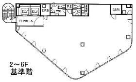 パシフィックマークス新宿サウスゲート:基準階図面