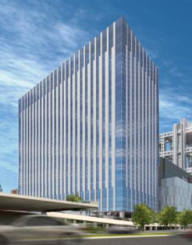 ダイバーシティ東京オフィスタワーの外観写真