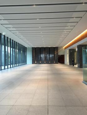 ダイバーシティ東京オフィスタワーの内装