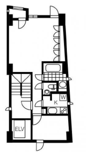 FOUR・Sビル:基準階図面