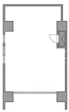 神泉フラッツビル:基準階図面