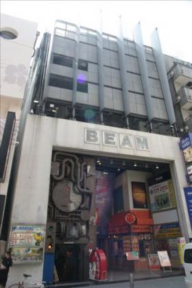 渋谷ビームビルのエントランス