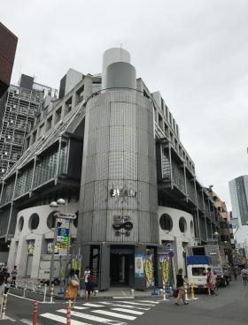 渋谷ビームビルの内装