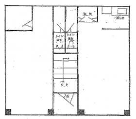 東洋道玄坂ビル:基準階図面