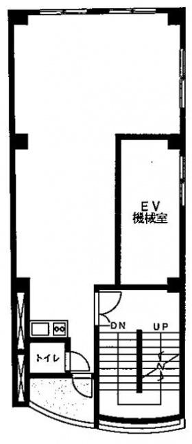 渋谷花菱ビル:基準階図面
