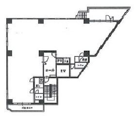 メイプル代々木ビル:基準階図面