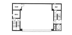 廣瀬第3ビル:基準階図面