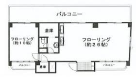 メイゾン原宿:基準階図面