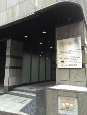 NCO神田淡路町ビルのエントランス