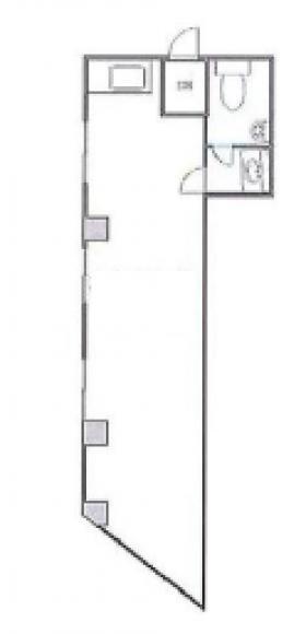 代々木パールハイツ:基準階図面