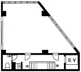 代々木MMIビル:基準階図面
