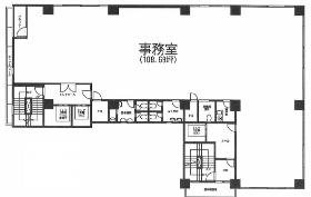 ヒルクレスト御茶ノ水ビル:基準階図面