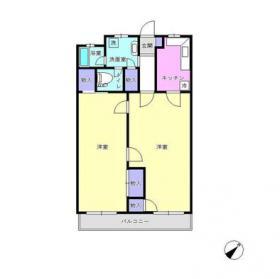 メゾンドール代々木ビル:基準階図面