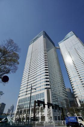 晴海アイランドトリトンスクエアオフィスタワーY棟の外観写真