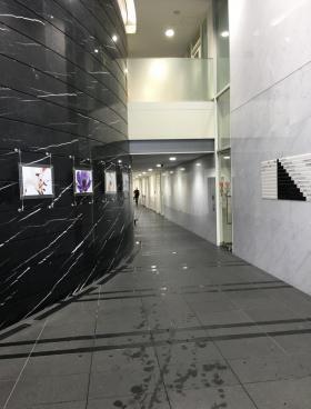 グラスシティ渋谷ビルの内装