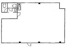 オフィスマツキビル:基準階図面