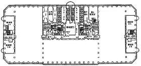 新宿アイランドタワー:基準階図面