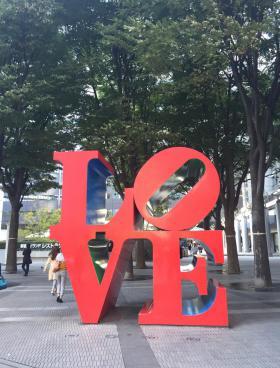 新宿アイランドタワーのエントランス