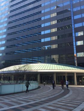 新宿アイランドタワーの内装