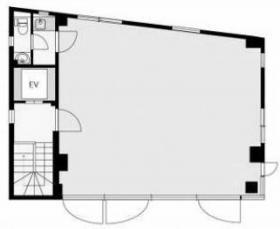 ヒルトップ神宮前ビル:基準階図面