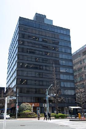 龍名館本店ビルの外観写真