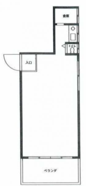 エクセル原宿ビル:基準階図面