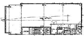 泉館五番町ビル:基準階図面
