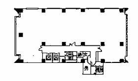 共同ビル神保町ビル:基準階図面