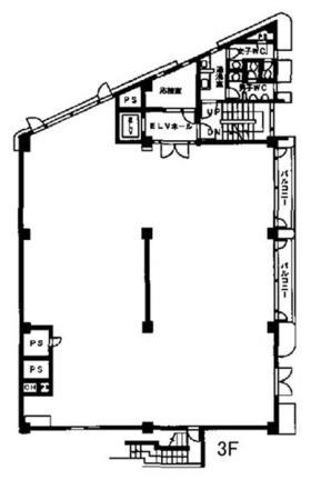 ハニービル青山:基準階図面