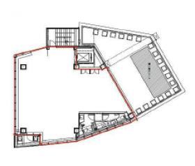 Jingumae342:基準階図面