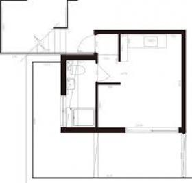 神宮前ビレッジビル:基準階図面