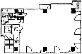 カノウビル:基準階図面