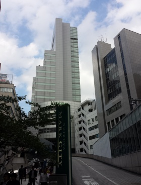 渋谷マークシティのエントランス