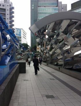 渋谷マークシティの内装
