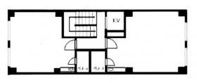 高野第1ビル:基準階図面