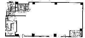 日本橋ぶよおビル:基準階図面