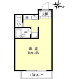 エグゼクティブ原宿ビル:基準階図面