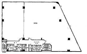 三鷹高木ビル:基準階図面