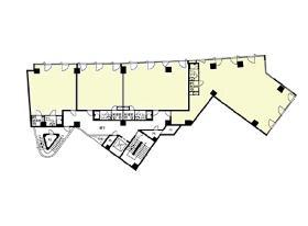 道玄坂スクエアビル:基準階図面