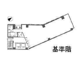 KIMURA BUILDING:基準階図面
