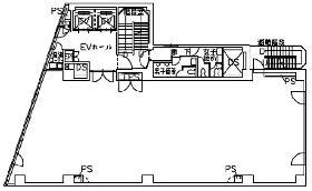 第25中央ビル:基準階図面