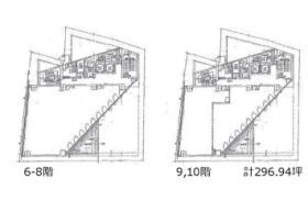 ハイカットビル:基準階図面
