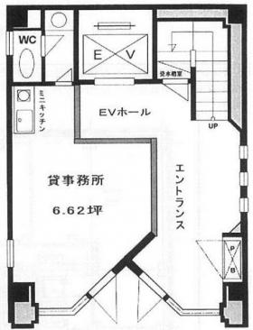 東洋ビル:基準階図面