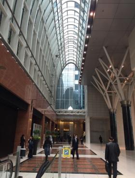 日土地西新宿ビルの内装